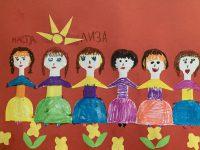 Крутчинская Лиза, 6 лет, Мои подружки, МДОБУ 40