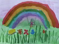 Никитина Полина, 4 года, Радужные качели, МДОУ 110