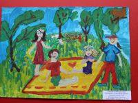 Якушева Таисия, 5 лет, Летний солнечный денек, МДОУ ЦРР - детский сад № 28