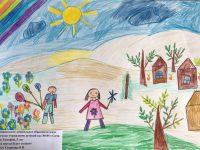 Зимин Тимофей, 5 лет, Пусть всегда будет солнце, МДОБУ 105